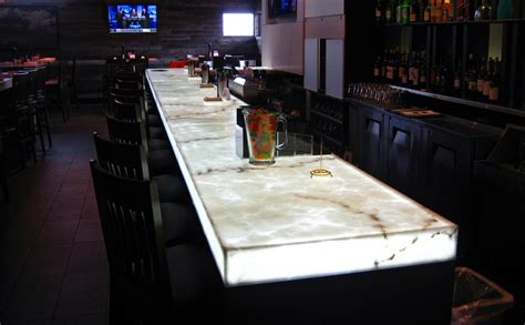 lighted bar tops elumanation projects
