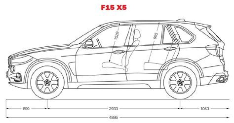 Bmw X5 Interior Dimensions by Official F15 Third 2014 X5 Details Pics Etc Page