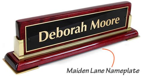 desk nameplates office nameplates sign and engraved