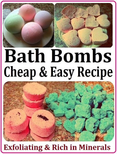 How To Make Shower Fizzies by Diy Bath Bombs Home And Diy