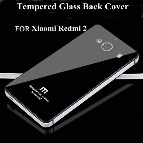 Backcover Backdoor Casing Belakang Xiaomi Redmi 2 xiaomi redmi 2 tempered glass back cover ultrathin metal toughened glass back cover