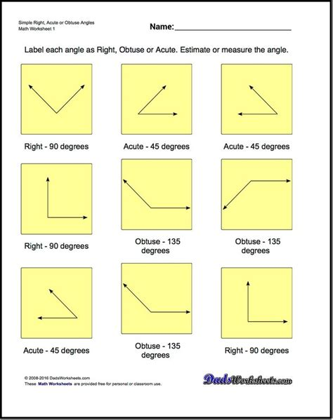 Beginning Geometry Worksheets Free by 1118 Best Images About Math Worksheets On Math