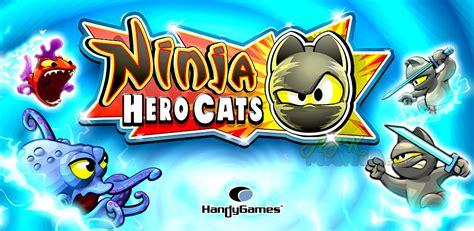 mod game apk mwb download ninja hero cats premium v1 2 4 apk full