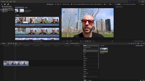 final cut pro letterbox letterbox widescreen cinemascope effect final cut pro x