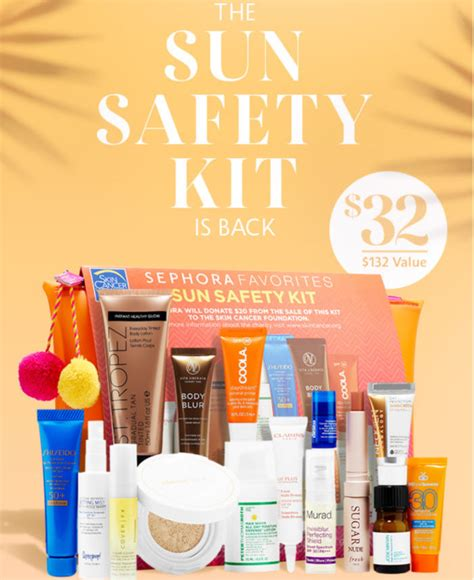 Sephoras Sun Safety Kit Product by Sephora Sun Safety Kit