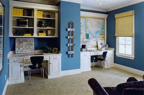 home office color schemes  create  working environment