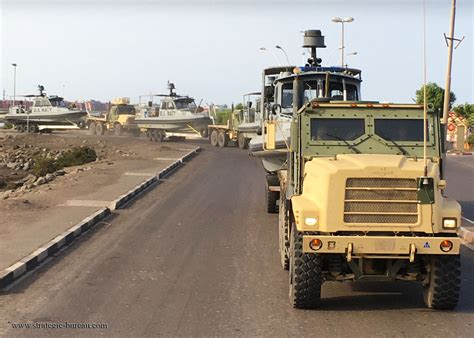 ark armored boat convoy seaark patrol boats while in djibouti strategic