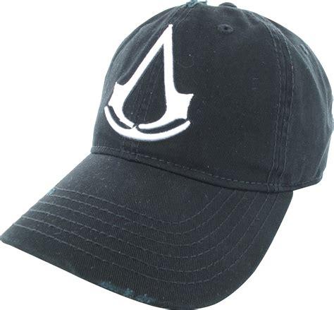 Topi Snapback Assasins Creed 3 assassins creed logo distressed snapback hat