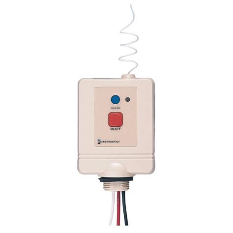 intermatic pool light remote intermatic receiver with on button rc613l