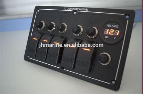 boats switch panel  volt rocker switch panel  switch