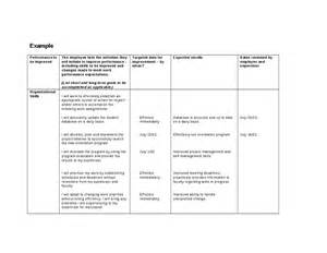 Pip Template by Performance Improvement Plan For Non Teaching Professional
