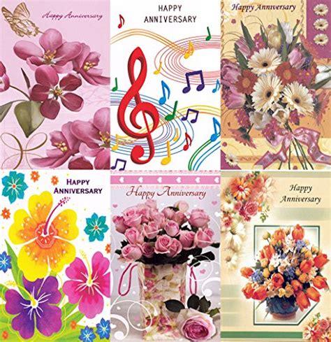 Wedding Anniversary Cards Bulk by Assorted Happy Anniversary Greeting Cards In A Bulk 12 Pack