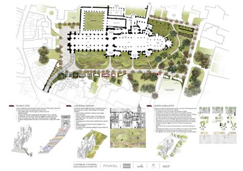 design a garden competition canterbury cathedral landscape design competition shortlist
