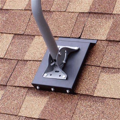 commdeck roof dish mounting system (retrodeck) from solid