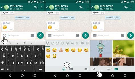emoji whatsapp yang bisa bergerak cara mencari dan mengirim gambar gif animasi di whatsapp
