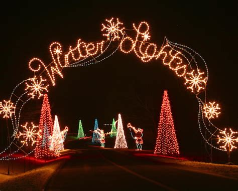 winter lights festival gaithersburg deal 10 for week night admission for one car to the city