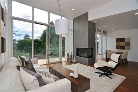 modernes wohnen wohnzimmer moderne gestaltungstipps f 252 r wohnzimmer eingebauter kamin