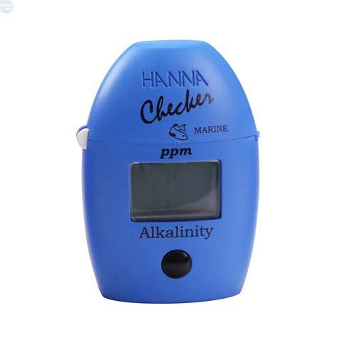 Hi 755 Marine Alkalinity Checker Colorimeter Instruments checker alkalinity colorimeter bulk reef supply