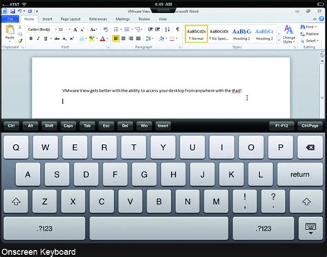 keyboard layout vmware view vmware view client for ipad released esx virtualization