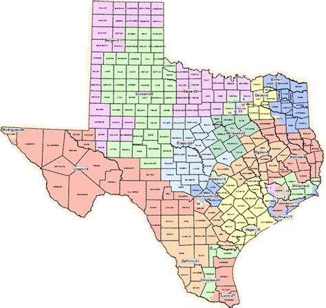 texas congressional district maps map texas congressional districts swimnova