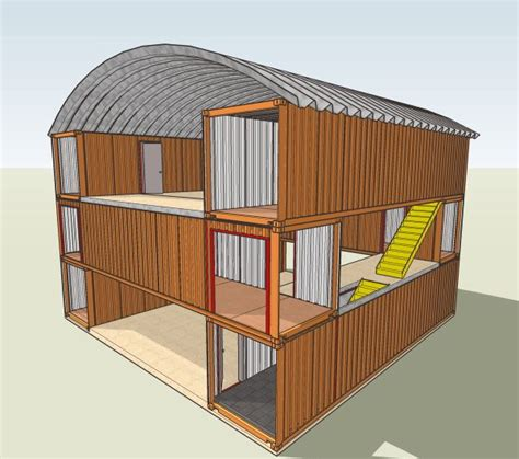 Storage Container Houses Ideas 25 Best Ideas About Container Buildings On Pinterest Shipping Container Houses Container