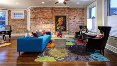 Teppiche Im Wohnzimmer by 20 Beispiele Wie Leuchtend Bunte Teppiche Akzente Im Raum