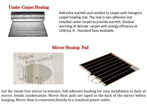 Portable Electric Radiant Floor Heating For Area Rugs Portable Electric Radiant Floor Heating For Area Rugs
