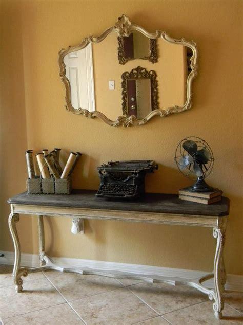 stylish statement  console table decor
