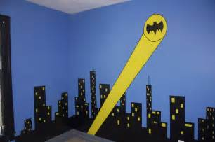 batman wall mural creative eyedias sleeping in gotham city a batman bedroom