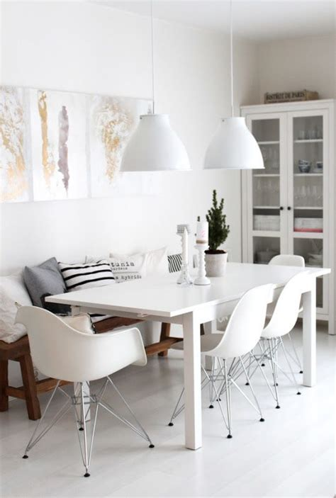 Black And White Dining Table Ideas