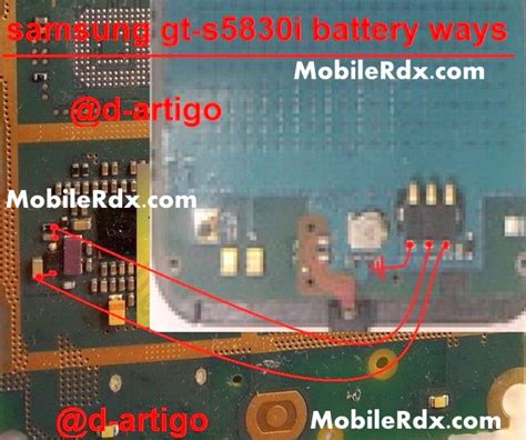 Battery Future Power Sam Galaxy Ace 5830 samsung galaxy ace s5830i battery connecter point ways