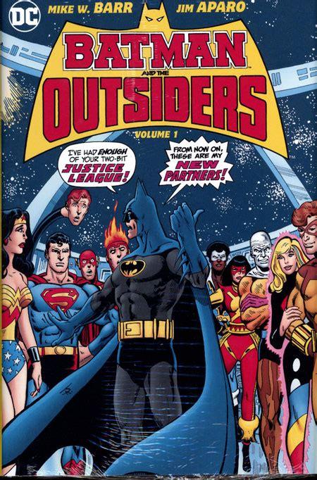 thor heroes return omnibus batman the outsiders hc vol 01