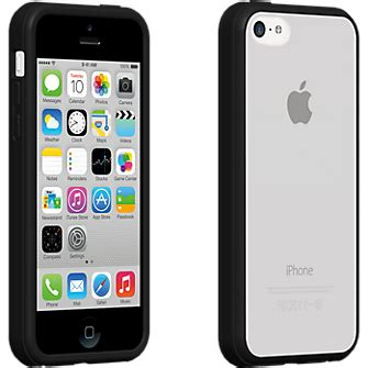 Krusell Cover Iphone 5c Transparent Black clear cover with black edge for apple iphone 5c verizon wireless