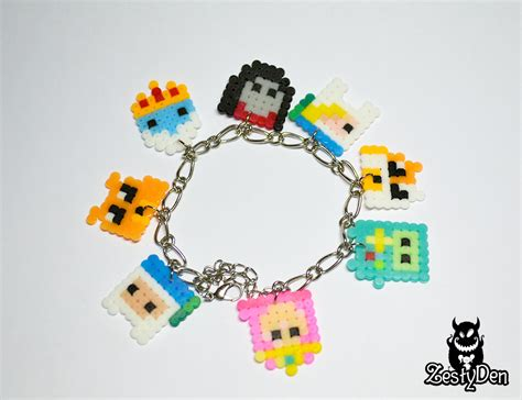 what to do with hama adventure time perler hama sprite bracelet by