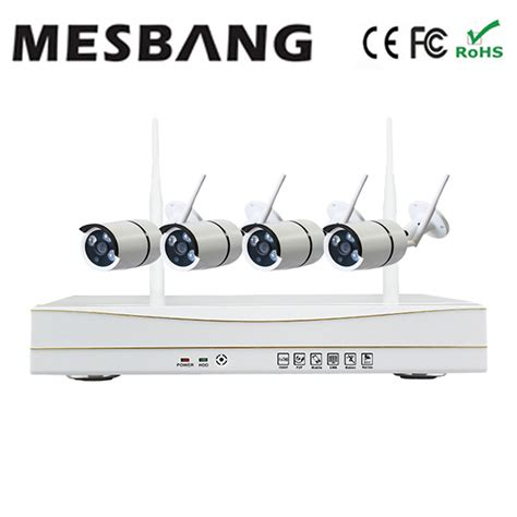 factory supply 960p 4ch wifi home security system