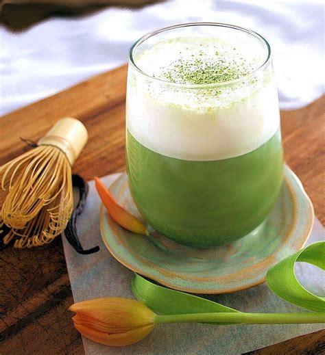Daffodil Tea Detox by Tea Recipe Vanilla Bean Matcha Latte Inspired Edibles