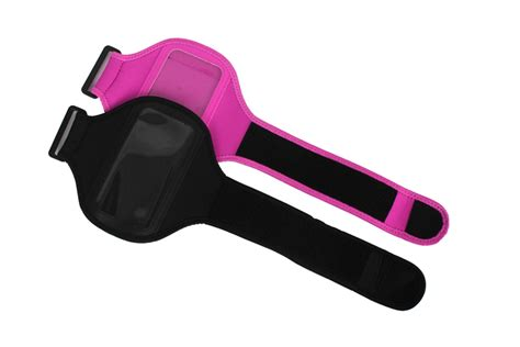 Colourfull Sport Armband Universal 5 Inch Samsung S4 S3 I9500 Pink universal sport armband band for iphone 4 4s 5 for