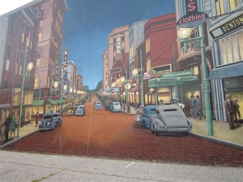 portsmouth ohio flood wall murals floodwall mural portsmouth ohio picture of portsmouth
