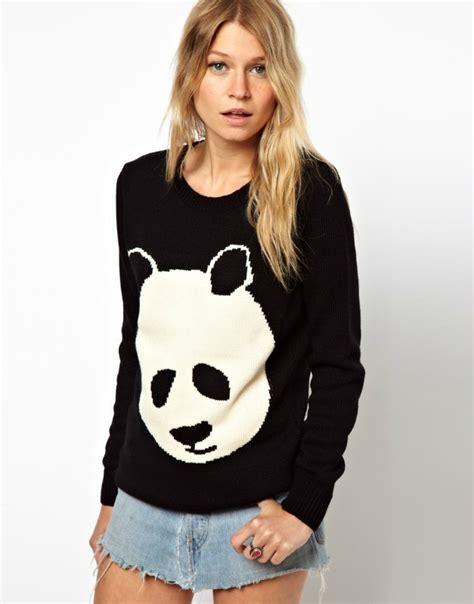 Sweater Wanita Fashion Garsel 7 imixbox 2015 new sweater sweaters fashion o neck panda sweater knitted wear