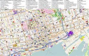maps canada toronto city maps toronto