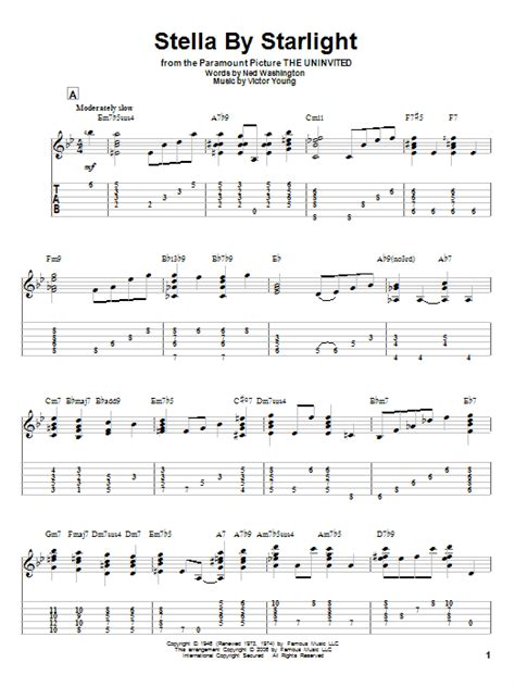Starlight Guitar Chords