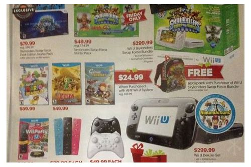 black friday deals wii u canada