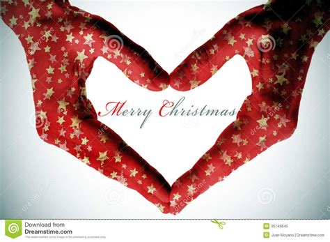 merry christmas stock image image  congratulate shaped
