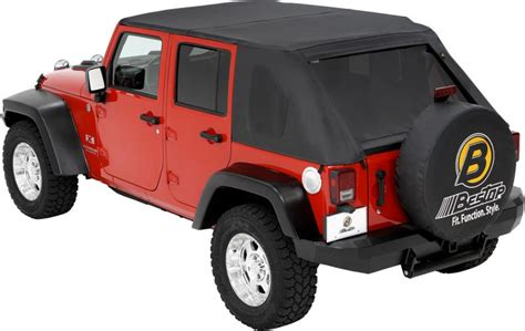 Best Top Jeep Bestop 56805 35 Bestop 174 Trektop In Black For 07