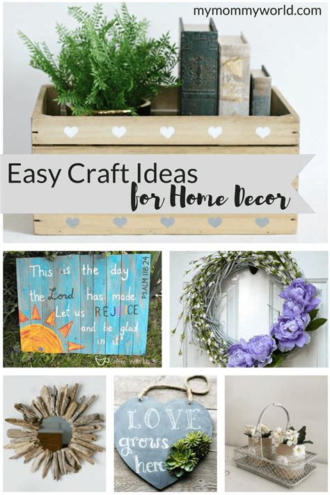 easy to make home decor easy craft ideas for home decor