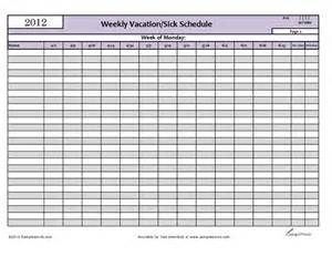 vacation calendar template 4 vacation schedule templates excel xlts