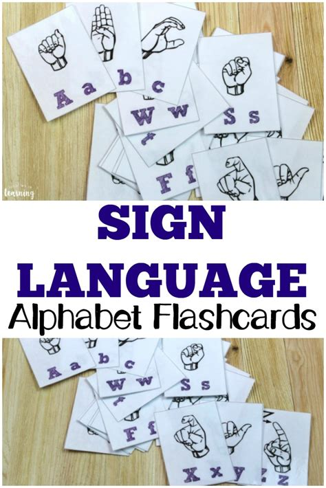 printable flashcards for sign language free printable flashcards sign language alphabet