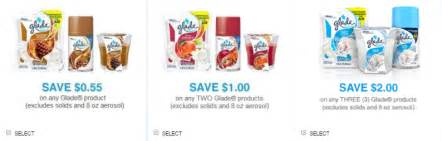 Glade Air Freshener Coupons Glade Coupon As Low As 0 50 Safeway