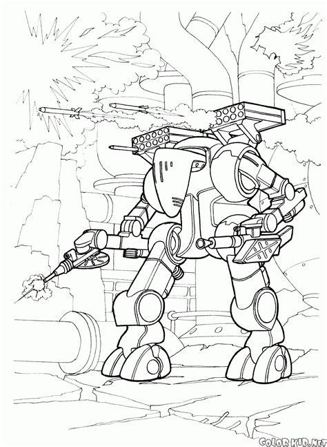 coloring futuristic wars