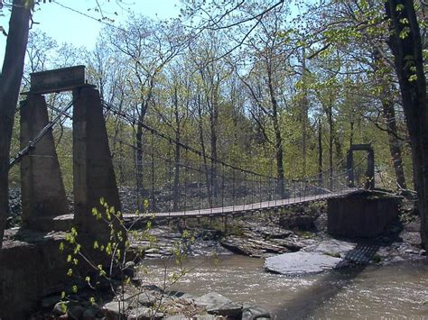 swinging bridge ny catskillmountaineer com forum view topic rebuilding of